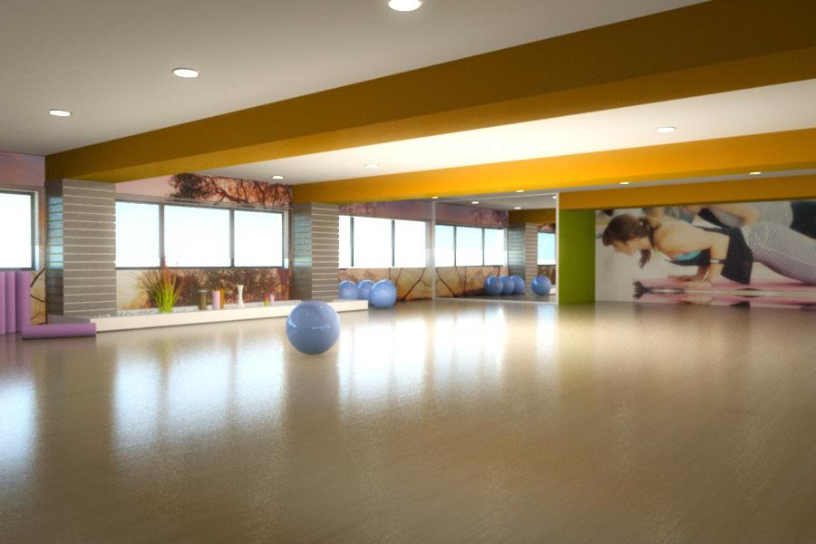 yiota kaplani - Yoga class renovation