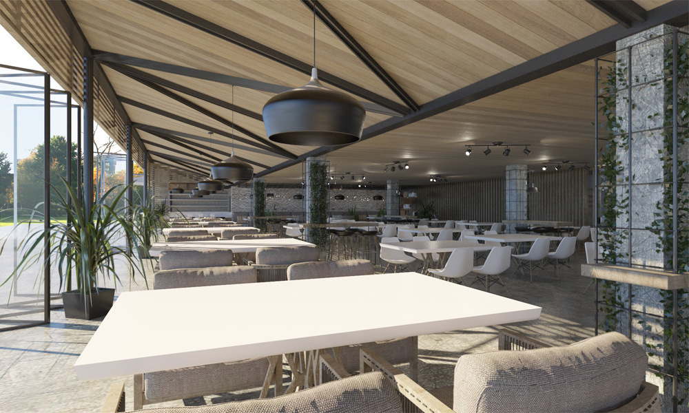 yiota kaplani - Restaurant renovation proposal in Pafos, Cyprus_ In cooperation with OCD+A architectural studio