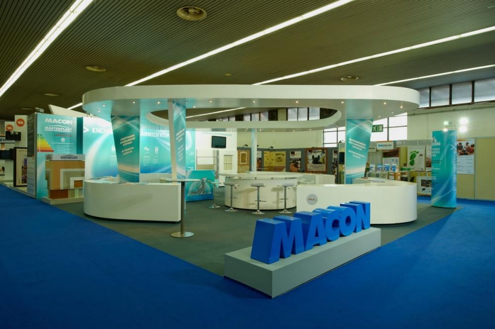 yiota kaplani - Macon exhibition stand - Infacoma 2012