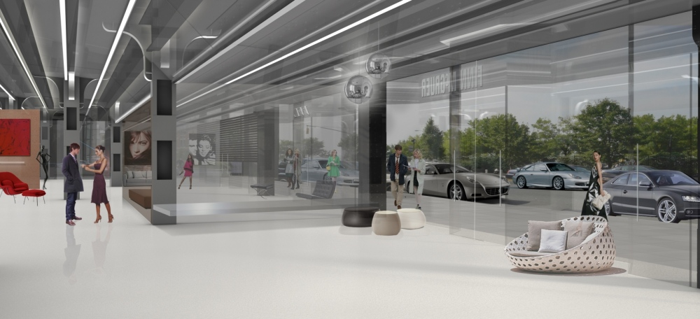 yiota kaplani - Interior commercial space