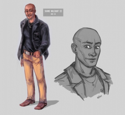 Art by Stefanie Meunier - Character Concept for Shane