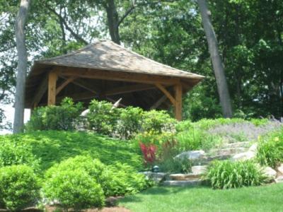 bkla studio - hillside garden