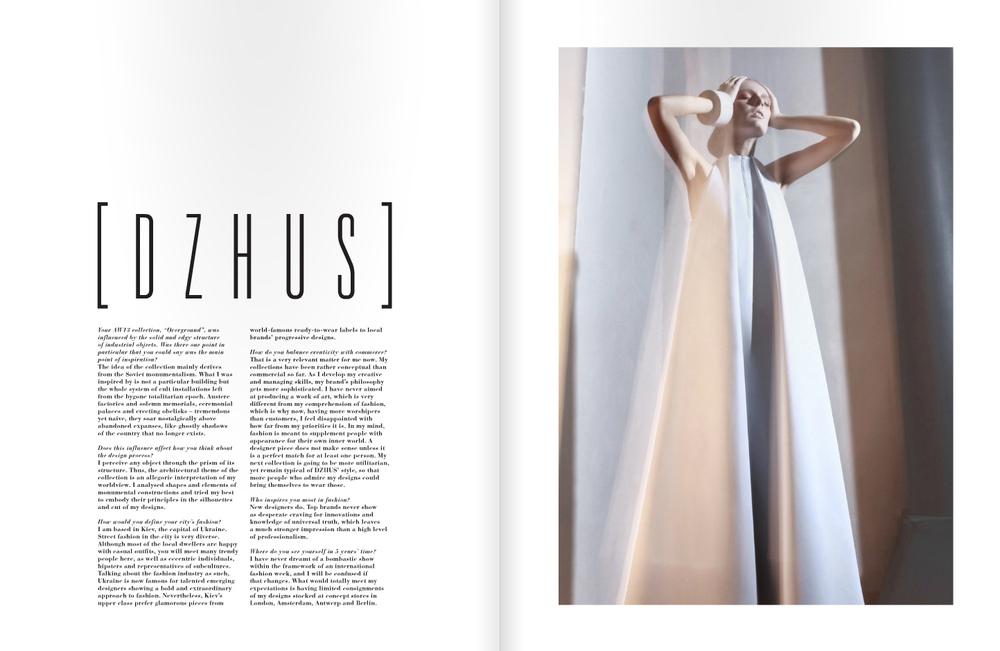 DZHUS - Deluxxdigital Magazine