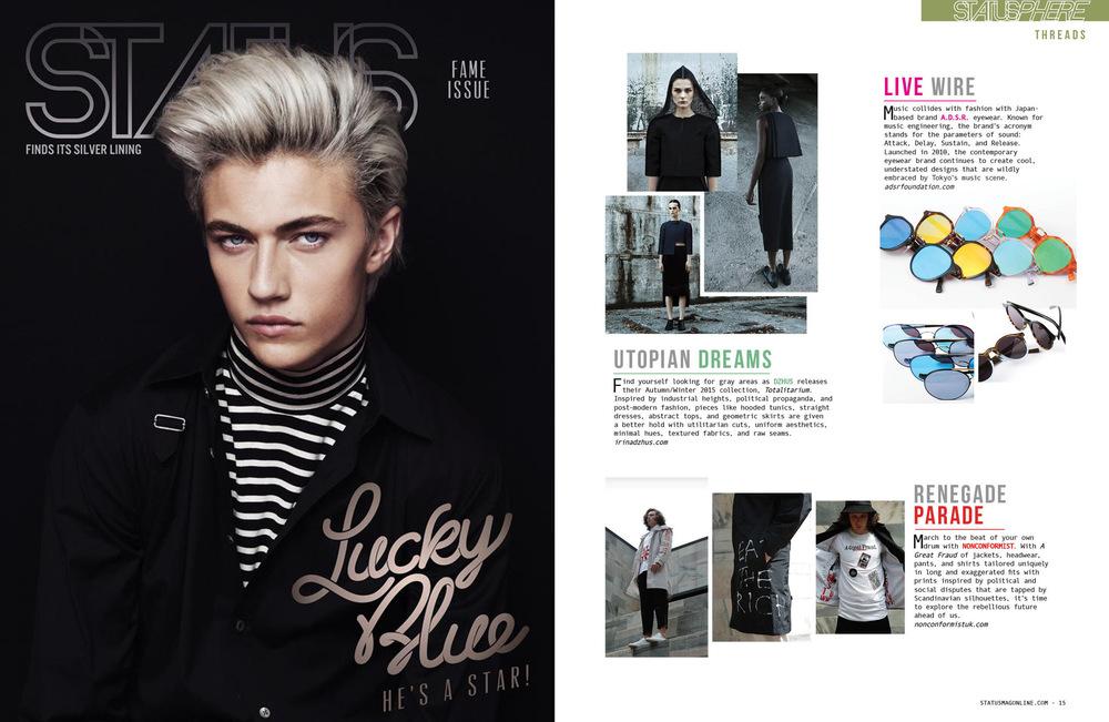 DZHUS - Status Magazine