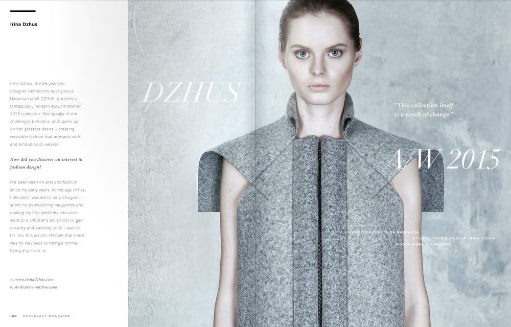 DZHUS - NeverLazy Magazine
