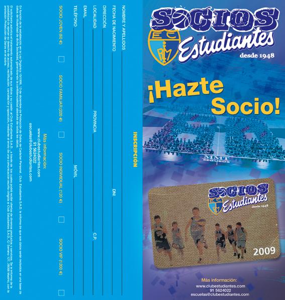 Ana González Pérez - Díptico Socios
