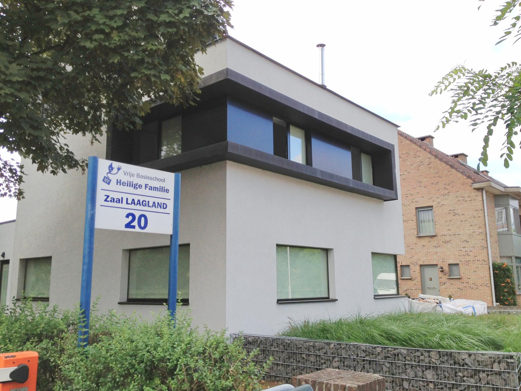 Verbouwing villa dl te schoten architectuurburo wydouw bvba