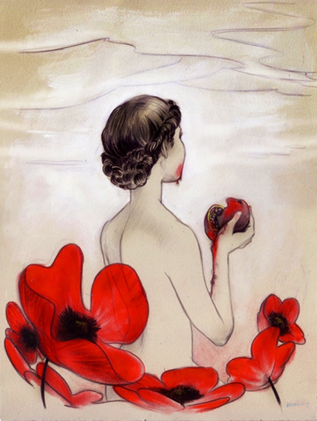 Veronica Fish | Illustration & Design - Poppies (2007)