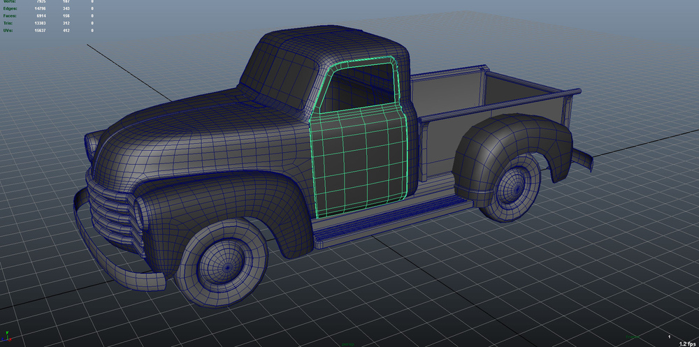 The.Art.Of... - 1951 Chevy Pickup Truck Wire WIP