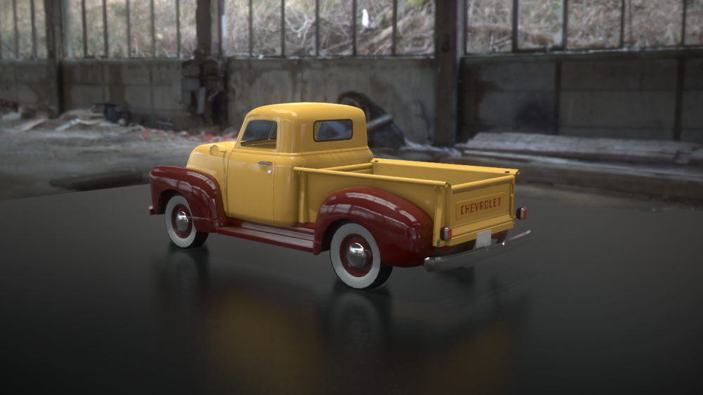 The.Art.Of... - 1951 Chevy Pickup Truck WIP