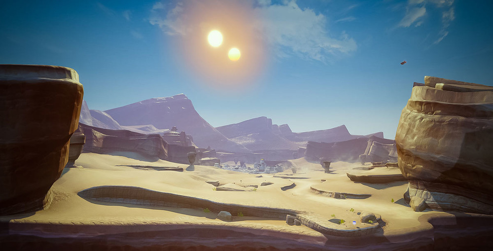 The.Art.Of... - Tatooine for Disney Infinity 3.0 ©Ninja Theory Ltd, 2015 & Disney