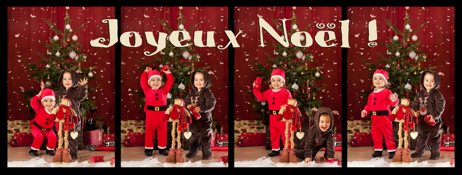 Instants Photos - Photographe de Mariage, Bébé et Enfant dans les Yvelines 78 & Paris 75. - Photographe bébé enfant 78 Yvelines 75 Paris - Instants Photos - Séance photo creative sur le theme de Noël