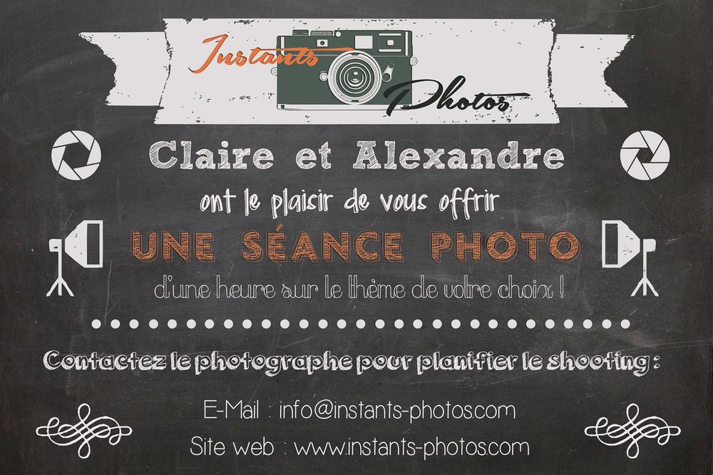 Instants Photos - Photographe de Mariage, Bébé et Enfant dans les Yvelines 78 & Paris 75. - Carte cadeau : offrir une séance photo avec un photographe professionnel dans le 78.