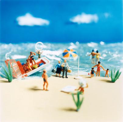 Fotograf Martin Magntorn - A windy day on the beach, Saint-Tropez