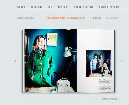 Fotograf Martin Magntorn - Några av mina arkivbilder i fotobok om Saint Etienne. Se mer på www.firstthirdbooks.com (2014)