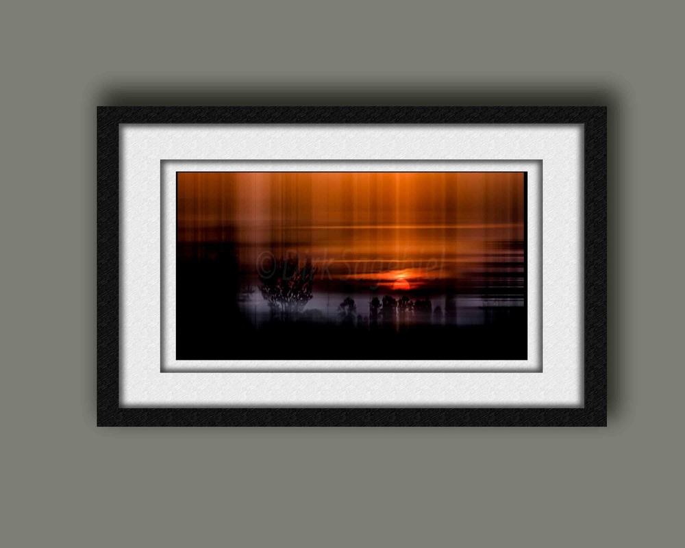 taubergraph - Sonnenuntergang verwischt
