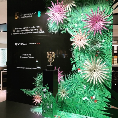 VM portfolio - BAFTA WINDOWS 2018. Regent St London