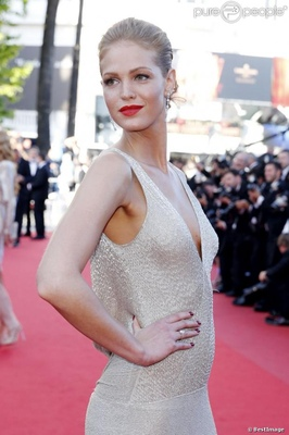 Make-up Artist Hairdresser - Erin Heatherton Festival de Cannes Makeup