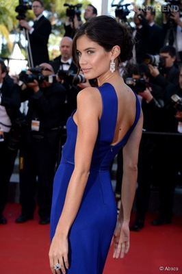 Make-up Artist Hairdresser - Sara Sampaio Festival de Cannes Makeup