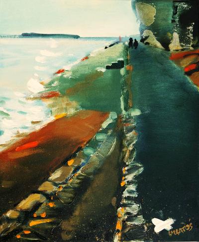 izabelalatos - Marstrand 13, Sweden. 48 x 36 cm oil on canvas