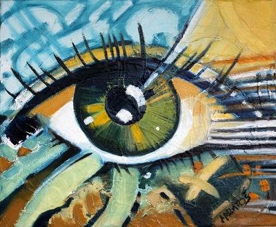 izabelalatos - A new day. 46 x 38 cm oil on canvas