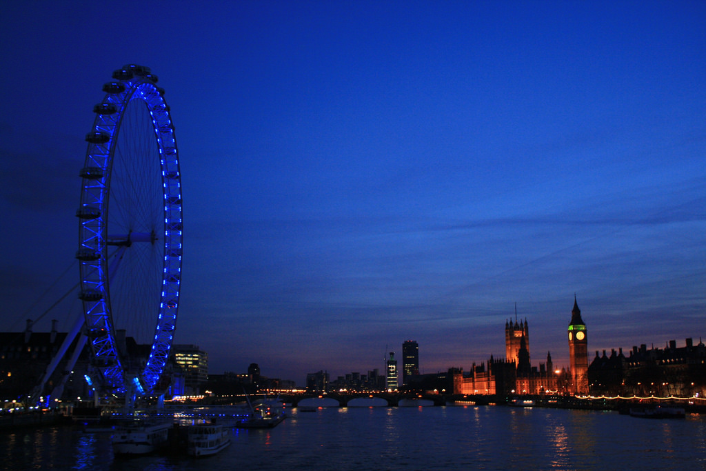 Photography by Ine PH. - London Eye and Big Ben // 2012