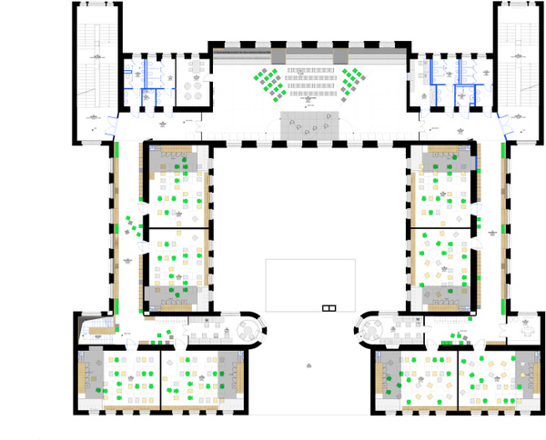 FLÓ Architects - 1st floor plan