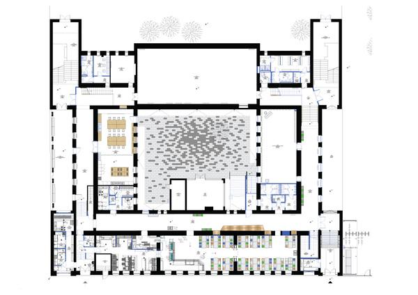 FLÓ Architects - ground floor plan