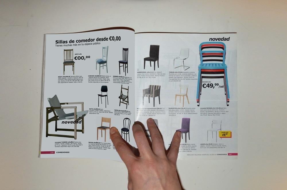 olalla GÓmez - Intervención en catálogos Ikea y posterior buzoneo