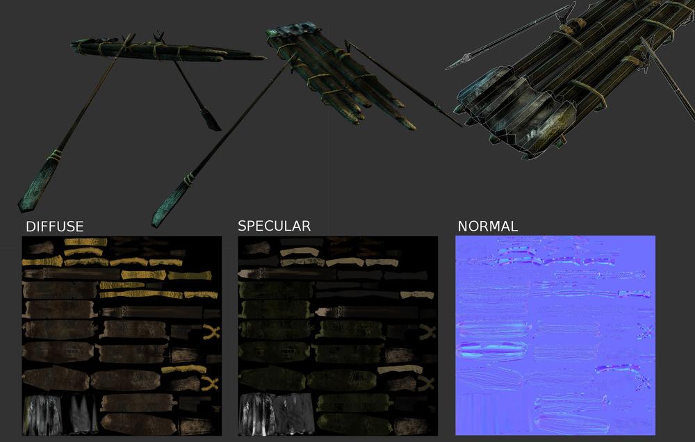 Steven Babb - 3D Design - Low Poly Game Asset