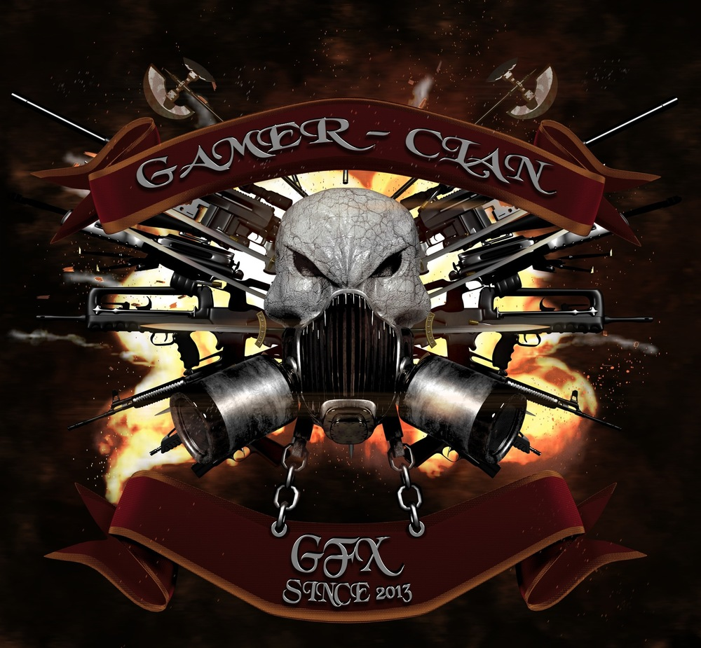 Steven Babb - 3D Design - Gaming Clan Logo
