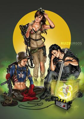 RUIZ BURGOS - COMIC CON SPAIN 16 poster