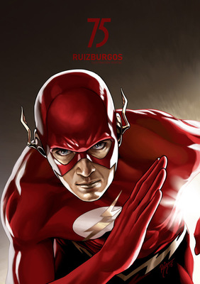 RUIZ BURGOS - THE FLASH 75º ANNIVERSARY