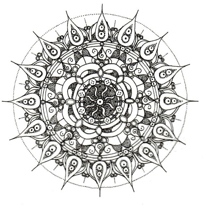 emma pryce illustration - Mandala 1