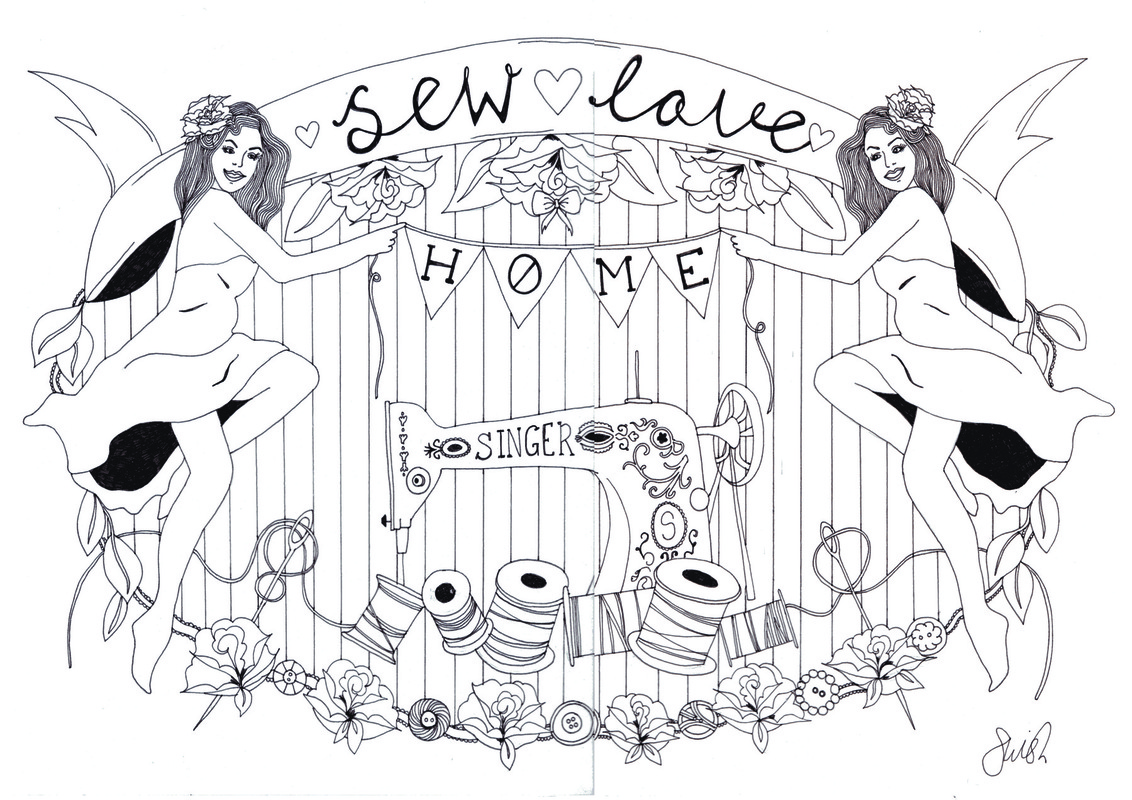 emma pryce illustration - Sew Love Home