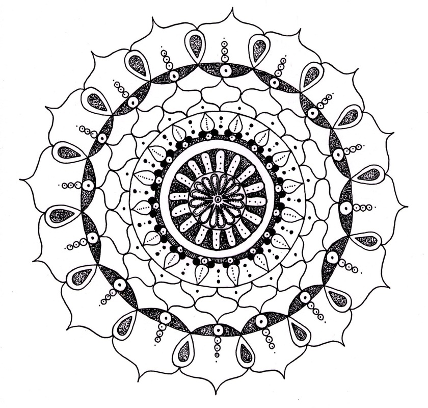emma pryce illustration - Mandala 2