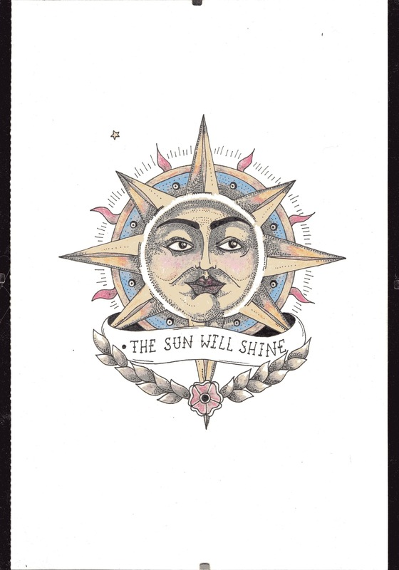 emma pryce illustration - The Sun Will Shine On You Again (left)