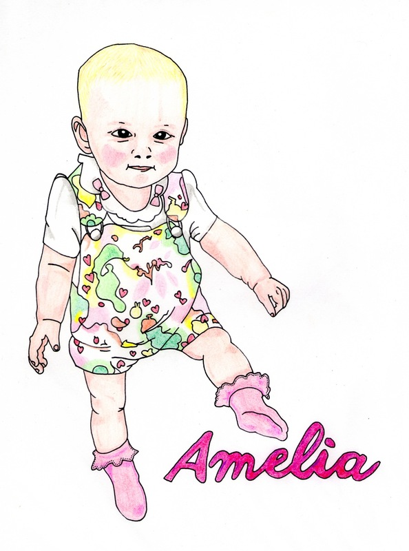 emma pryce illustration - Amelia