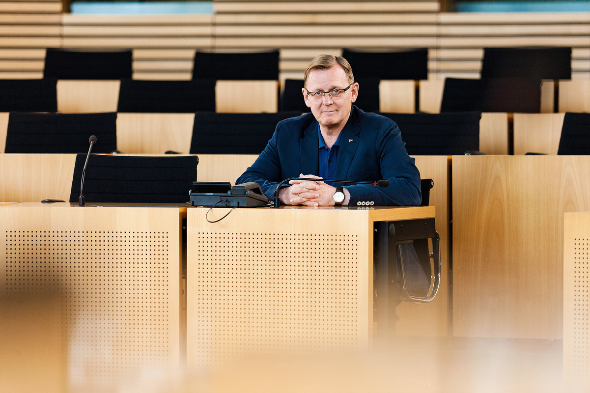 Matthias Eckert | Fotograf aus Weimar/Thüringen - Bodo Ramelow | Ministerpräsident des Freistaates Thüringen