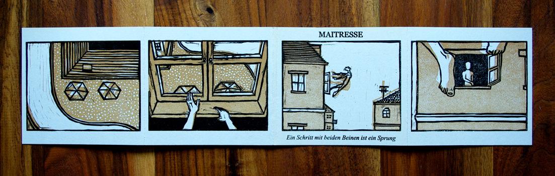 Vincent Leinweber - Maitresse – Ein Schritt mit beiden Beinen ist ein Sprung Full Cover