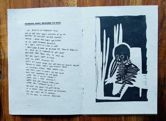Vincent Leinweber - Snakes & Lions Lyrics Zine