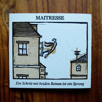 Vincent Leinweber - Maitresse – Ein Schritt mit beiden Beinen ist ein Sprung Front-Cover