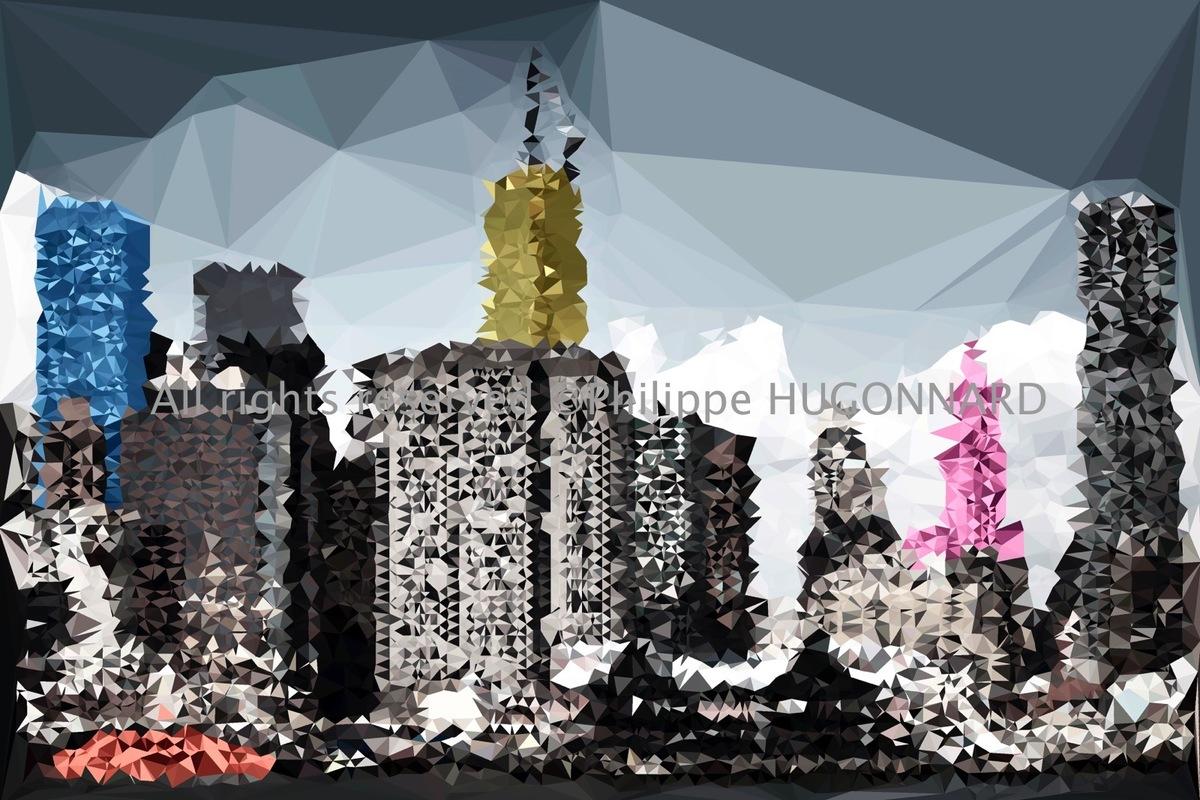 Philippe Hugonnard Photography - Philippe Hugonnard a créé une collection inédite d'art digital stylisée, intitulée «Low Poly NYC ART». L'artiste a voulu mettre en valeur les angles et les formes géométriques de l'architecture New Yorkaise tout en s'inspirant de la modélisation 3D. Plus de 200 œuvres sont à découvrir dès maintenant.
