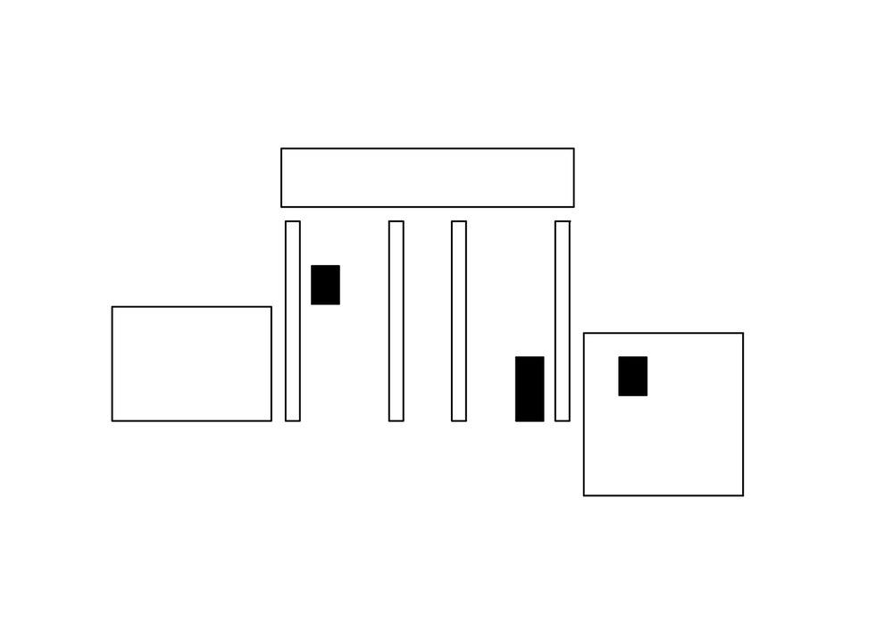 allenarchitettura - CASA A TREVIGLIO In un luogo in cui si legge la presenza dei segni di un villaggio industriale tessile costruito nel 1873 sul modello dei principi di Robert Owen, la casa riprende in maniera contemporanea senso, forma, proporzioni, orientamento, di un fabbricato rurale preesistente nel luogo prima delle trasformazioni urbanistiche recenti. A sud verso il piccolo giardino un grande porticato a doppia altezza è insieme, come nella tradizione dell'architettura della cascina lombarda, elemento formale caratterizzante e sistema di controllo solare. La casa si sviluppa su quattro livelli intorno ad una scala in legno centrale. Il disegno in pianta rispetta i rapporti della sezione aurea.