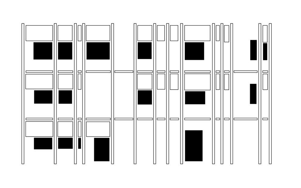 allenarchitettura - SCUOLA ELEMENTARE A BAGNATICA La scuola è il radicale ripensamento di un edificio di fine anni '70, rigenerato con una nuova pelle colorata, un sistema di controllo solare in acciaio zincato e tende a scorrimento verticale e una nuova copertura in alluminio con un impianto fotovoltaico integrato. Il sistema di controllo ambientale è la nuova architettura della scuola. Gli interni, interamente ridisegnati, rompono il sistema corridoio-aula introducendo spazi comuni più ampi e articolati a comporre un paesaggio interno che risponde a codici di colore e luce che identificano le diverse aule e gli spazi comuni.