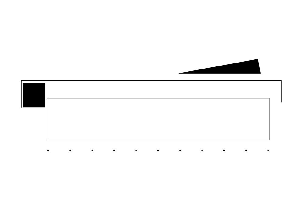 allenarchitettura - SCUOLA ELEMENTARE A PIEVE DI SOLIGO Dieci aule integralmente in legno su due piani contraddicono con il loro orientamento a sud l'edificio in cemento degli anni '70 a cui sono collegate con un leggero segmento vetrato e di cui sono l'ampliamento. Gli spazi per la didattica sono completamente aperti alla luce naturale ma protetti da un grande porticato in acciaio zincato con tende verticali. Alle loro spalle il sistema di distribuzione orizzontale e la scala di sicurezza sono raccolte da una parete rossa e quasi del tutto opaca che protegge le aule dalle temperature fredde a nord.