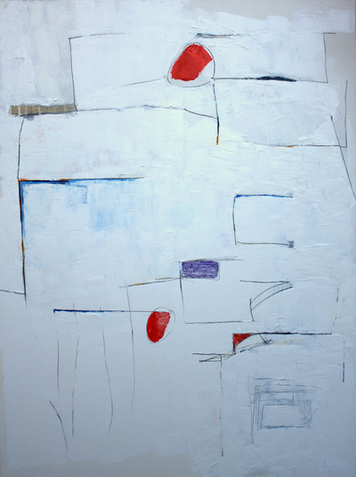 Haydn Dickenson - Artist - Step, Connect, Disconnect. 101x76cm unframed. NOT FOR SALE FROM THIS SITE