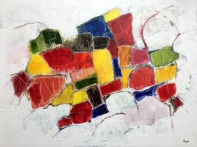 Haydn Dickenson - Artist - Untitled 102x76cm unframed