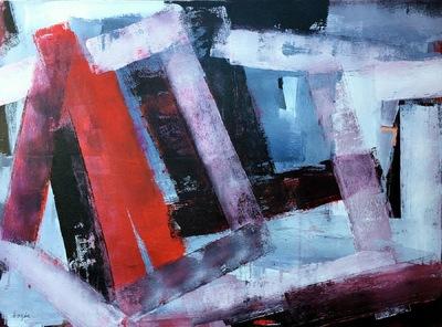 Haydn Dickenson - Artist - Darkly 102x76cm unframed