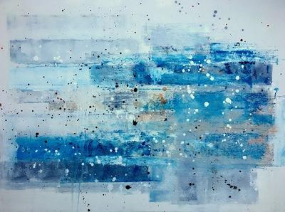 Haydn Dickenson - Artist - Untitled 102x76cm unframed SOLD